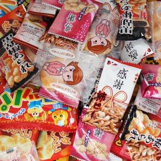 (送料無料)おかしのマーチ 駄菓子・小袋スナックセット E(9種・全74コ入) (omtma5625)