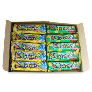 (全国送料無料)やおきん 三角クラッカー駄菓子スナック(2種・全10コ)セット メール便 (omtmb0782)