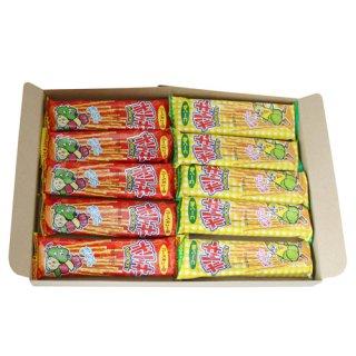 (全国送料無料)やおきん ポリッキー駄菓子スナック(2種・全10コ)セット メール便 (omtmb0783)