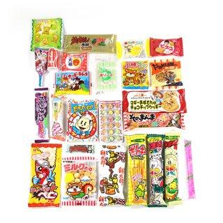 (全国送料無料) 厳選♪子どもがよろこぶ駄菓子セット A (25種・計25コ)おかしのマーチ メール便 (omtmb5937)
