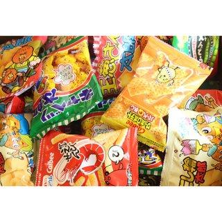 (地域限定送料無料) カルビーミニスナック&人気の菓道太郎スナックセット(9種・計44コ) おかしのマーチ (omtma6120k)