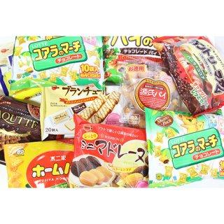 (地域限定送料無料) 人気のファミリーサイズのお菓子 詰め合わせセット(9種・計10コ) (omtma6216k)