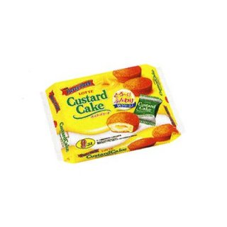 ロッテ カスタードケーキ パーティーパック 9個×10入り (4903333055746)