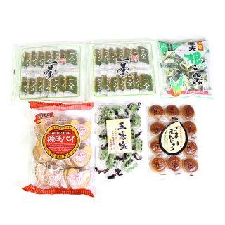 (地域限定送料無料) 一茶も入ったお茶菓子セット(5種・計6コ)おかしのマーチ (omtma6238k)