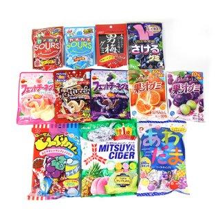 (地域限定送料無料) 12種類のグミ&キャンディ菓子食べ比べセット(12種・計12コ)おかしのマーチ (omtma6239k)