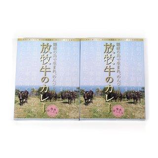 (全国送料無料) アグリおき 隠岐放牧牛カレー 200g 2コ入り メール便 (4580333860015x2m)