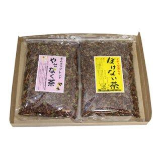 (全国送料無料) おかしのマーチ 森田製菓 ぼけない茶 & やせなく茶セット 各1コ 計2コセット メール便 (omtmb5366)