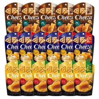 (地域限定送料無料) グリコ 生チーズのチーザ3種セット(3種・計17コ)おかしのマーチ (omtma6817k)