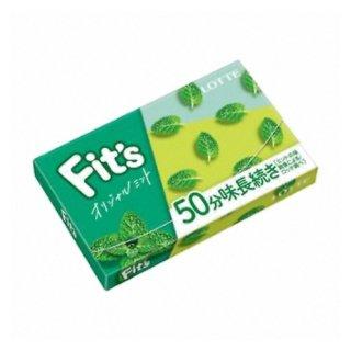 ロッテ Fit's<オリジナルミント> 12枚 10コ入り 2020/12/08発売 (45205170)