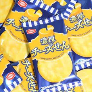 (全国送料無料)アジカル 亀田製菓 濃厚チーズせん 1枚 32コ入り おかしのマーチ メール便 (4510656412189sx32m)