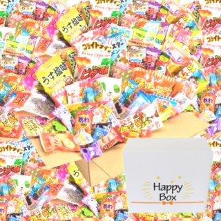 (地域限定送料無料) <ハッピーボックス> 駄菓子80個【サービス品付き】おかしのマーチ (omtma5507k)