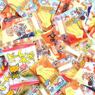 (全国送料無料) ミニおやつ ちょい食べセット B (4種・計50個) おかしのマーチ メール便 (omtmb7010)