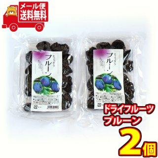 (全国送料無料) 森田製菓 ドライフルーツ プルーン 180g 2コ入り おかしのマーチ メール便 (4511843001216sx2m)