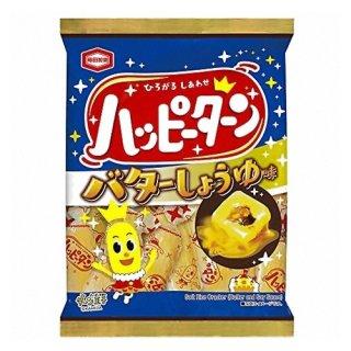 亀田製菓 ハッピーターンバターしょうゆ味 81g 12コ入り 2021/08/23発売 (4901313938140)