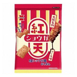 岩塚製菓 紅ショウガ天 80g 12コ入り 2021/09/06発売 (4901037145510)