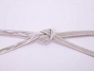 帯〆 白×銀<br>和小物さくら