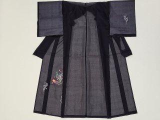 絹紅梅 イトカワオリジナル 刺繍
