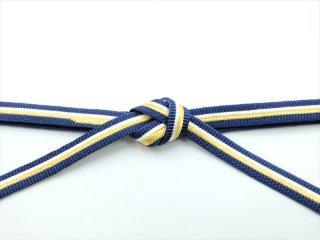 帯〆 藍色地 白×金<br>和小物さくら