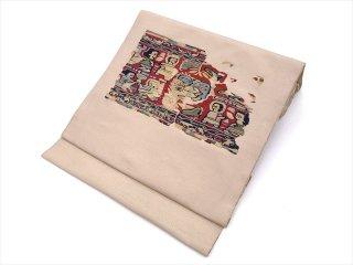 袋帯 蘇州刺繍 コプト文様