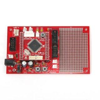 AVR MEGA 128 開発ボード(+ブレッドボード)