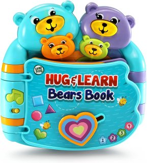 <img class='new_mark_img1' src='https://img.shop-pro.jp/img/new/icons26.gif' style='border:none;display:inline;margin:0px;padding:0px;width:auto;' />Hug & Learn Bears Book 【ハグして学ぼうベアーズブック】
