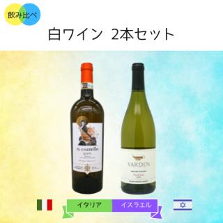 飲み比べ 白ワイン2本セット