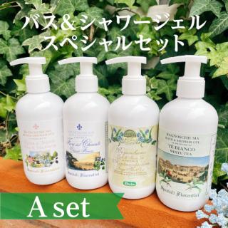 バス&シャワージェルスペシャルセット A(税込11,000円→税込6,600円)