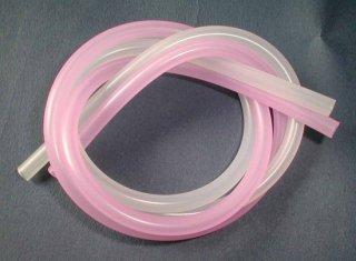 シリコンチューブ SP.二色セット (クリヤー/ピンク)