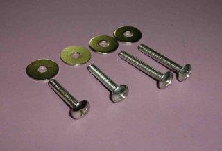ウイングボルト・セット M(M4x25mm,30mm,各2本入り)