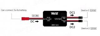 TUZ 12V-3A UBECギュレータ
