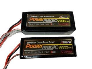 PowerMagic-LW リポ[25C-TYPE] 22.2V-10000mAh UAV