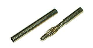 ゴールド・コネクター2.0mmロング メス 10個組