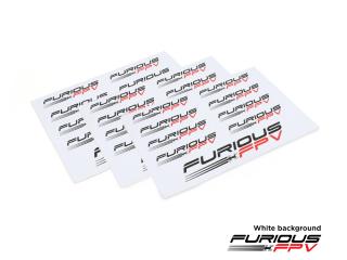 Furious FPV Sticker 105x150mm(3pcs)