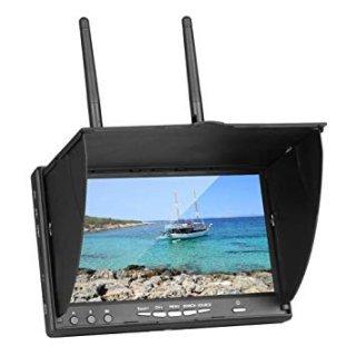 LT5802D 5.8GHz LCD ダイバーシティ受信機7インチモニター(DVR機能付き)