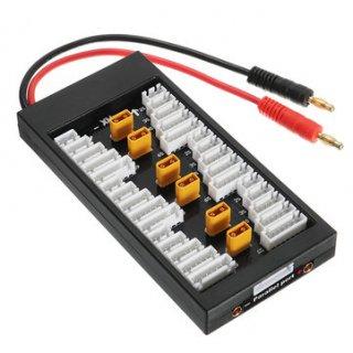XT30-6ポート並列充電ボード(2-6S対応)