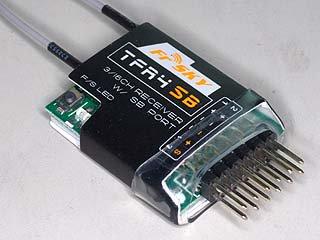 TFR4-SB(S-BUS) 2.4GHZ 受信機(双葉用)