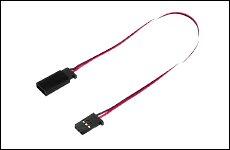 FUTABA 302305 サーボ用延長コード 50-100J 100mm 大電流50芯タイプ
