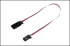 FUTABA 302312 サーボ用延長コード 50-200J 200mm 大電流50芯タイプ