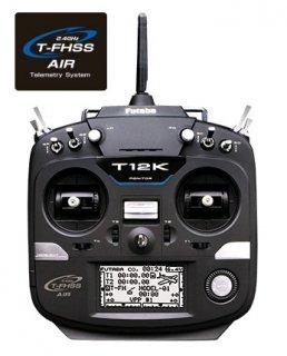 FUTABA T12KV 2.4GHz T-FHSS FPV用ラチェット仕様 T/Rセット R3001SBx2