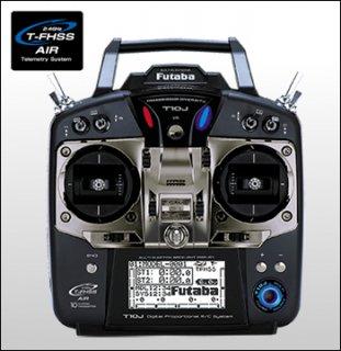 FUTABA T10JFPV 2.4GHz T-FHSS FPV用 R2000SBM付き
