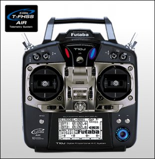 FUTABA T10JM 2.4GHz T-FHSS マルチ用フルスプリング仕様 R3008SBセット
