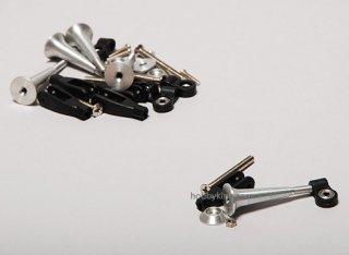 エクストラストロングコントロールホーン5個組 2.8x34mm