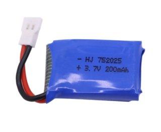 X68用 Li-Po 3.7V-210mAh