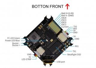 Beta85X用 F4+OSD+16A