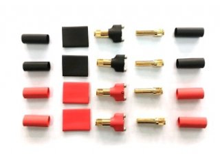 4mmアンチスパークコネクト(オスメス各4個)