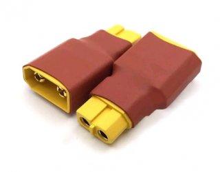 XT60(メス)-XT90型(オス)プラグ変換コネクター 1個