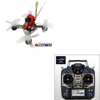 Jumper X73S 赤色(S-FHSS仕様)+FUTABA-T10Jプロポ付き