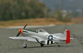 カシオペア製 P-51Dムスタング戦闘仕様