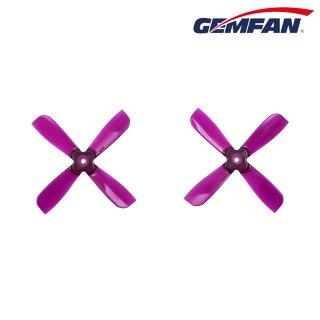GEMFAN 2035BN 4ブレード(クリヤーパープル)