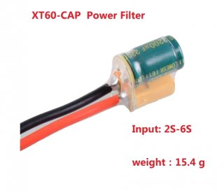 XT60コンデンサー付きケーブル